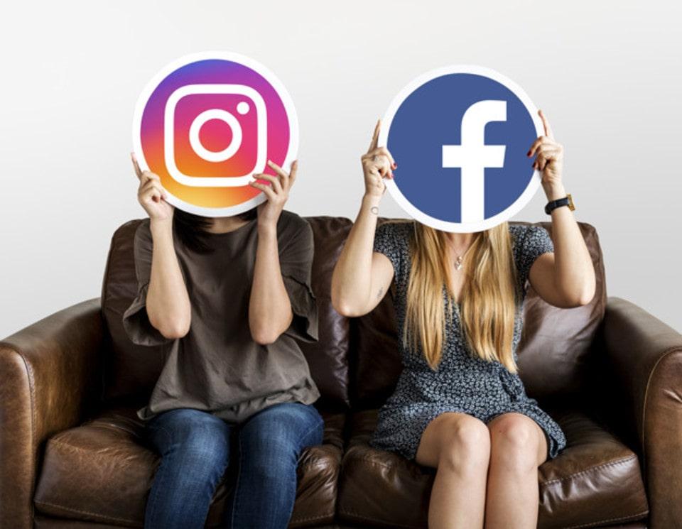 como fusionar facebook e intagram