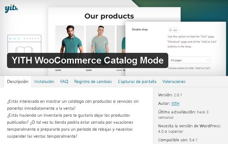 plugin-yith-modo-catálogo