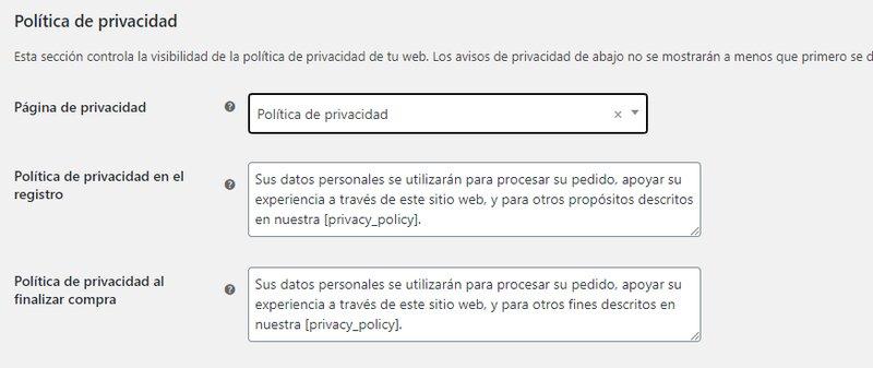 ajustes-de-politica-de-privacidad-woocommerce