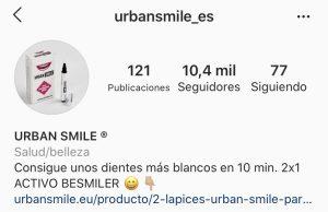 biografia tienda instagram