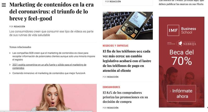 publicidad online blogs