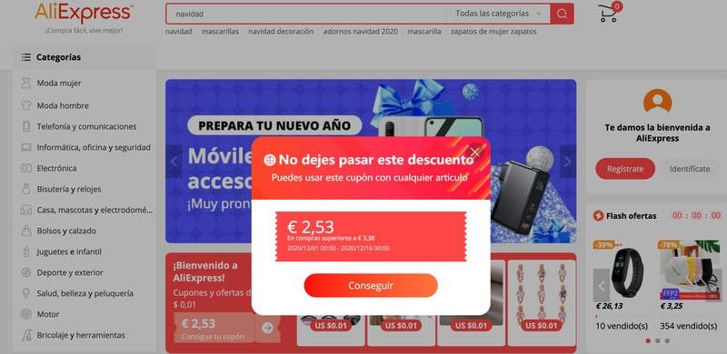 publicidad online popup
