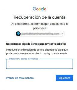 averiguar contraseña gmail
